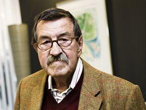 Spisovatel Günter Grass.