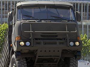 Vojenský vůz Tatra - ilustrační foto