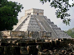 Chrámové město Mayů Chichén Itzá.