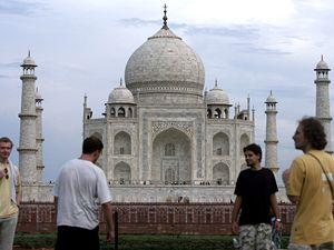 Tádžmahal v Indii.