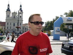 Poprvé na Letní filmové škole. Bývalý prezident Václav Havel strávil víkend mezi filmovými nadšenci v Uherském Hradišti.