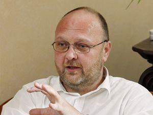 Ředitel Národní knihovny Vlastimil Ježek