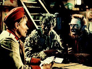 Mariáš. Hercům při vytváření jedné z klíčových scén filmu pomáhal i odborný poradce.