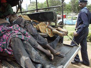 Počet obětí povolebních násilností v Keni stoupl na 124.