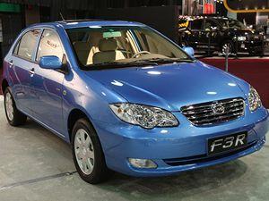 BYD Company přijela na autosalon se svým F3R.