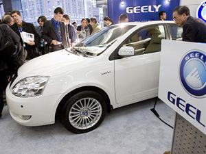 Společnost Geely se na autosalonu pochlubila modelem FC.