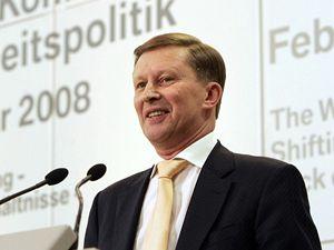 Ruský vicepremiér Sergej Ivanov