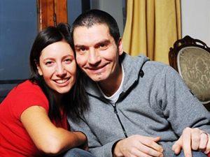 Irena Neffová se svým manželem a vrahem Robertem.