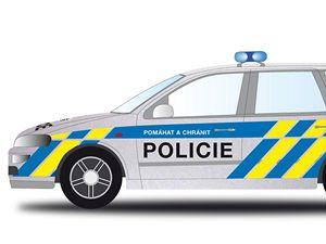 Vedení policie již vybralo podobu nových policejních aut. Služební vozy budou stříbrné barvy s vodorovným modrým pruhem na bocích a kratšími modrými a žlutými pruhy na zadní části vozu.