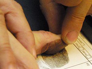 Ilustrační foto - otisk prstu.