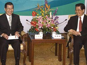 Viceprezident Tchaj-wanu Vincent Siao se sešel s čínským prezidentem
