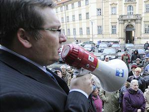 Místopředseda pražské ODS Jiří Janeček