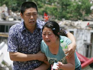 Zemětřesení v Číně.