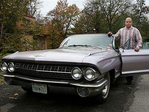 Jaroslav Zvonař (31), Cadillac Convertible, 1961.