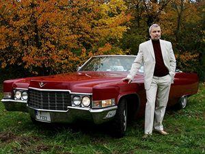Pavel Kopecký (52), Cadillac Convertible 1969.