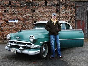 Jiří Kraus (31), Chevrolet BelAir, 1954.