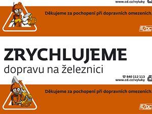 Mravenec. Nový maskot Českých drah.