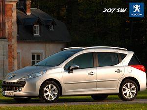 Peugeot 207 SW.