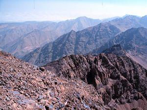 Maroko - hory (ilustrační foto).