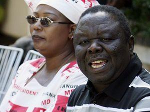 Předák zimbabwské opozice Morgan Tsvangirai volá o pomoc OSN.