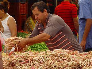 Tržiště v Turecku.
