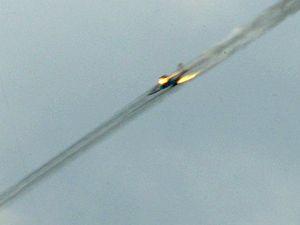 Gruzínská stíhačka střílí na separatisty Jižní Osetie.