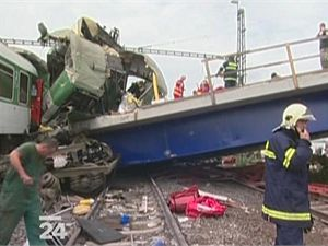 Nehoda vlaku ve Studénce