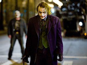 Heath Ledger jako zloduch Joker