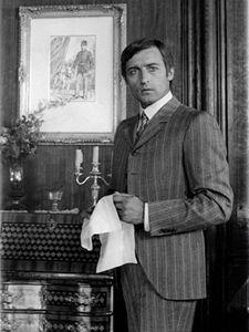 Herec Michal Dočolomanský během natáčení filmu Adéla ještě nevečeřela.