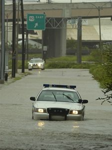 Následky po hurikánu Gustav v New Orleans