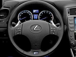 Řazení se ovládá páčkami za volantem.