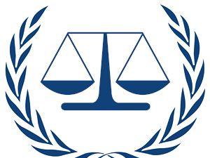 Logo Mezinárodního trestního soudu (ICC).