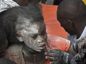 Haiti škola neštěstí