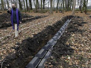 Na hřbitov v Chebu byly uloženy první ostatky německých vojáků