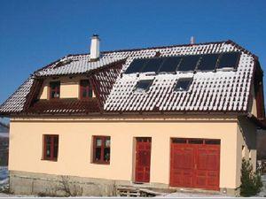 Stále častěji se v novostavbách začíná využívat obnovitelných zdrojů energie.