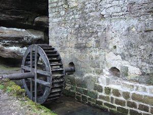 Dolský mlýn.