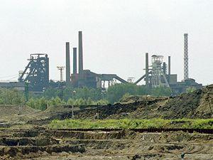 Vítkovické železárny.