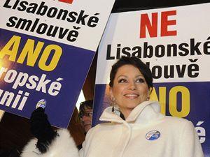 Jana Bobošíková před ND