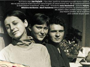 Jan Palach - LN mají k dispozici patrně poslední Palachovu fotografii před tragickým činem.