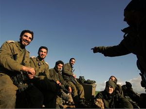 Izraelští vojáci.