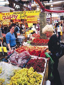 Jeden z místních trhů.