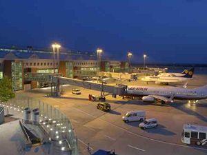 Drážďanské letiště.
