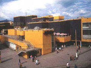 Obchodní dům Ještěd v Liberci v době své největší slávy v 80.letech.