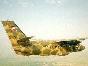 Nej�sp�n�j�� �esk� dopravn� letoun L-410