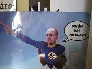 Přípravy na pochod neonacistů v Ústí nad Labem.