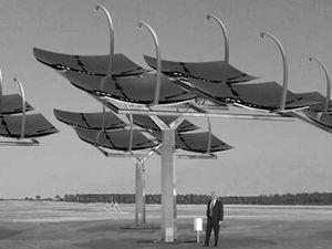 Izraelské paraboly dokážou využít 75 procent sluneční energie.
