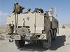 V Afgh�nist�nu pou��vali voj�ci SOG mimo jin� speci�ln� upraven� vozidlo Tatra. Na jeho korb� jsou namontov�ny r�zn� typy zbran�, kter� poskytuj� zv�enou ochranu jednotce.