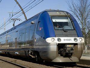 Elektrické jednotky AGC využívají francouzské dráhy pro regionální přepravu.