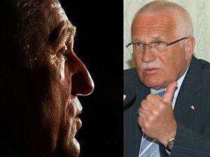 Mirek Topolánek a Václav Klaus.