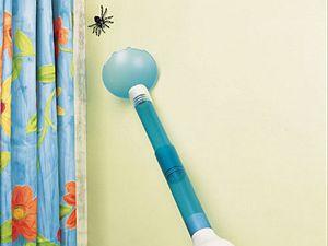 Bezdrátový vysavač hmyzu jistě ocení každá hospodyňka, v jejímž království se zabydlí odporný pavouk.
